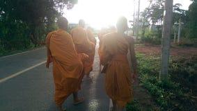 монахи Стоковое Изображение