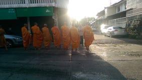 монахи Стоковая Фотография