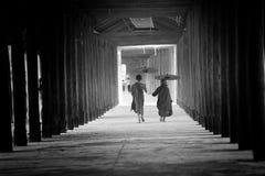 монахи Стоковые Изображения RF