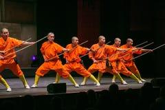 Монахи Shaolin Стоковые Фото