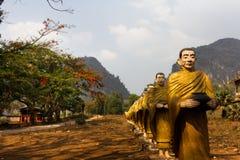 100 монахов Стоковое фото RF