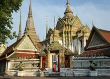Висок Wat Pho Бангкок Таиланд Стоковая Фотография
