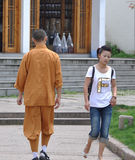 монах девушки Стоковые Изображения RF