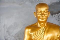Монах золота буддийский. Стоковое Изображение