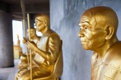 Монах золота буддийский. Стоковые Фотографии RF