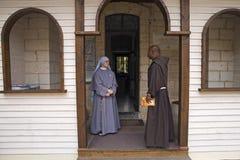Монах монашки Cana Галилеи Стоковые Изображения