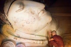 Монах Мьянмы Стоковое фото RF