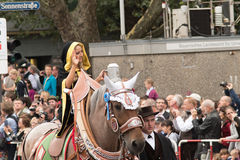 Монах Мюнхена парада Oktoberfest Стоковая Фотография RF