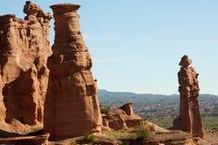 Монах - национальный парк Talampaya - Аргентина стоковое изображение rf