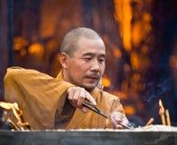 монах октябрь 02 китайцев принимает XI Стоковое Изображение RF