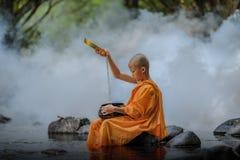 Монах послушника стоковые изображения rf