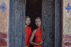 Монах послушника стоковые фото
