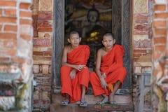 Монах послушника стоковое фото rf