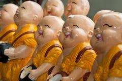 монах смеха тайский Стоковая Фотография