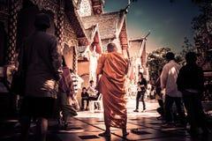 монах Таиланд Стоковая Фотография RF
