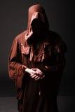 Монах тайны моля дальше вставать Стоковое Фото