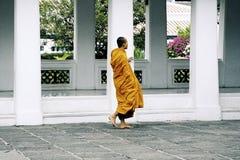 монах тайский Стоковая Фотография