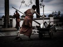 Монах тайский Стоковое фото RF