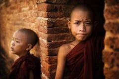 Монах 2 послушников стоковые изображения rf