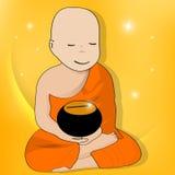 монах Стоковое Фото
