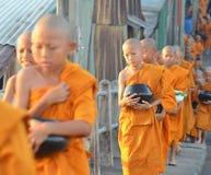 монах Стоковые Фото