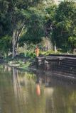 Монах Angkor Wat Стоковое Фото