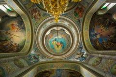 Монашеский комплекс, Capriana Республика Молдавии стоковые изображения