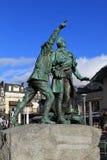 Монблан Франция Шамони стоковые фотографии rf