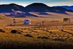 Монгольское yurt Стоковые Фото
