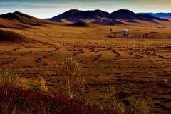 Монгольское yurt Стоковое фото RF
