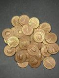 Монетка внутри Стоковое Фото