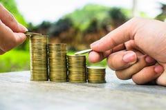 Монетка денег стоковое фото