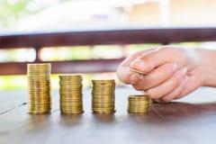Монетка денег стоковые фотографии rf