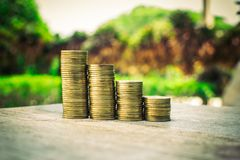 Монетка денег стоковая фотография