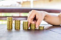 Монетка денег стоковое фото rf