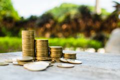 Монетка денег стоковое изображение