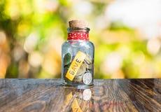 Монетка денег стоковая фотография rf