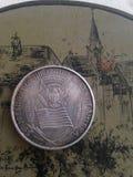 Монетка Джон Кеннеди стоковые изображения