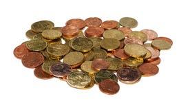 Монетка евро Стоковая Фотография