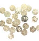 монетка 500 иен Стоковое Изображение RF