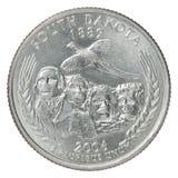 Монетка квартального доллара Стоковые Фотографии RF