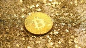 Монетка макроса при светлое отражение сделанное как виртуальная валюта