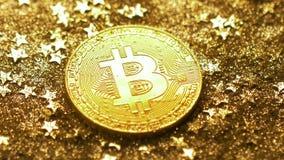 Монетка макроса сделанная системой платежей Bitcoin используя Blockchain