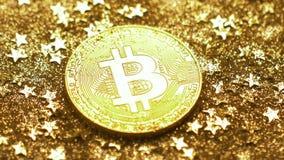 Монетка макроса созданная как виртуальное Cryptocurrency против звезд