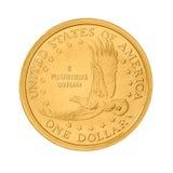 Монетка один доллар США Стоковое Фото