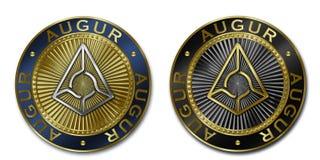 Монетка ПРОРИЦАТЕЛЯ Cryptocurrency Стоковое Изображение RF