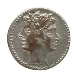 монетка римская Стоковое фото RF