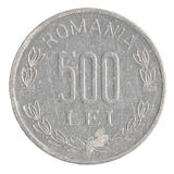 Монетка 500 румынская леев Стоковая Фотография RF