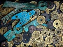 монетка старая Стоковое Изображение