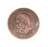 монетка старая Стоковое фото RF